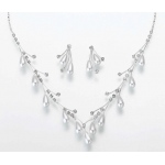 Lillian Rose Pearl Drop Necklace & Ear Set