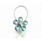 Lillian Rose Something Blue Toe Ring