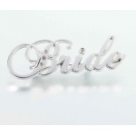Lillian Rose Rhinestone Bride Pin
