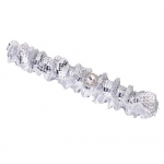 Lillian Rose Sequin Garter - Silver