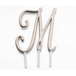 Lillian Rose Gold Monogram - M