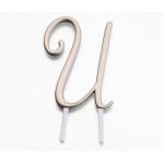 Lillian Rose Gold Monogram - U
