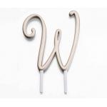 Lillian Rose Gold Monogram - W