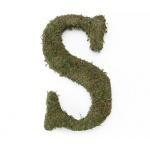 Lillian Rose Large 15 inch Moss Monogram Letter - S