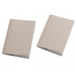 Lillian Rose Set of 2 Tan Passport Covers - Blank