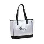 Lillian Rose Bride White Tote