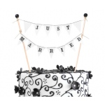 Lillian Rose Just Married Cake Bunting