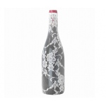 Lillian Rose Lace Wine Bottle Cover - Cream