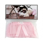 Lillian Rose Flower Dog Skirt - Pink