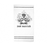 Lillian Rose Just Married Beach Towel