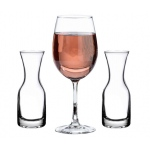 Lillian Rose Wine Glass & 2 Carafes Ceremony Set